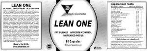 Lean One Label