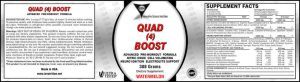 Quad 4 Boost Label